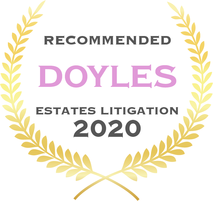 Doyles Guide Recommended Wills & Estates Litigation Law Firm
