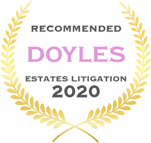 Doyles - Estates Litigation - Recommended - 2020